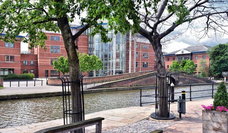 Juge Centre, Nottingham photographie stock libre de droits