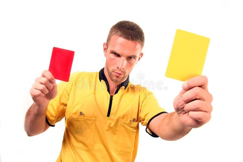 Download Juge Du Football Avec La Carte Image stock - Image du juge, concept: 8653703