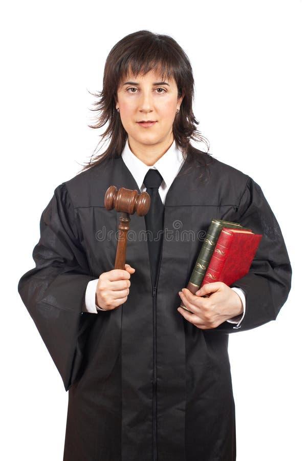 Juge féminin photos libres de droits