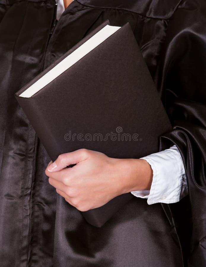 Juge féminin dans une robe photos libres de droits