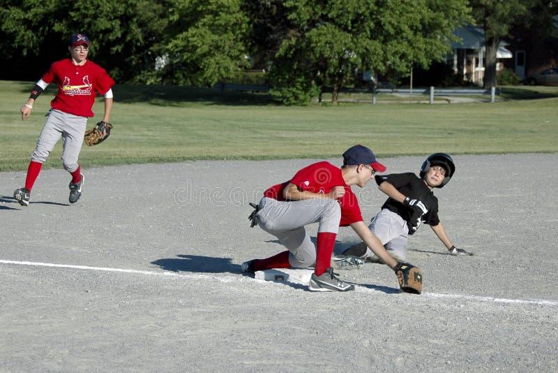 Jugend-Baseball stockfotografie