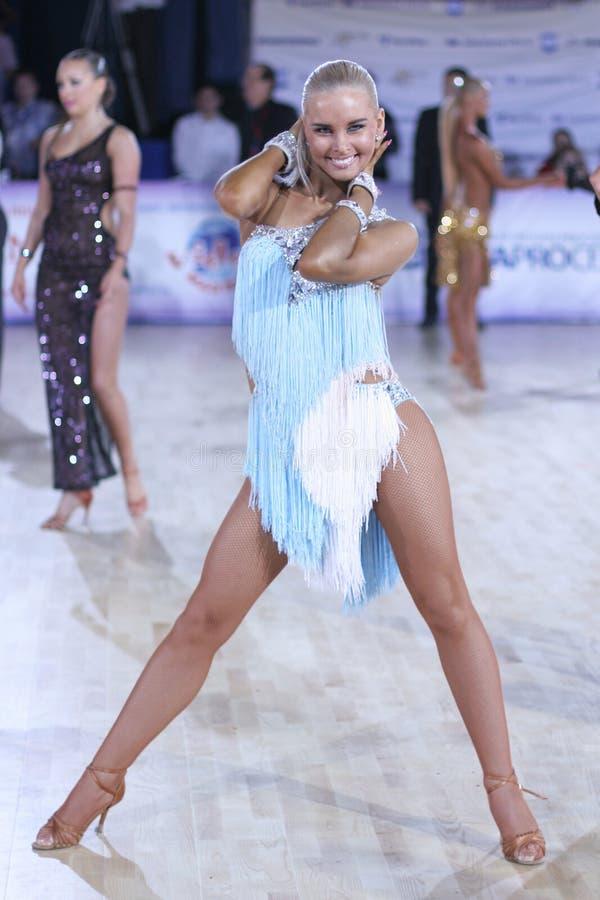 Jugend-lateinischer Wettbewerb 2009 lizenzfreie stockbilder