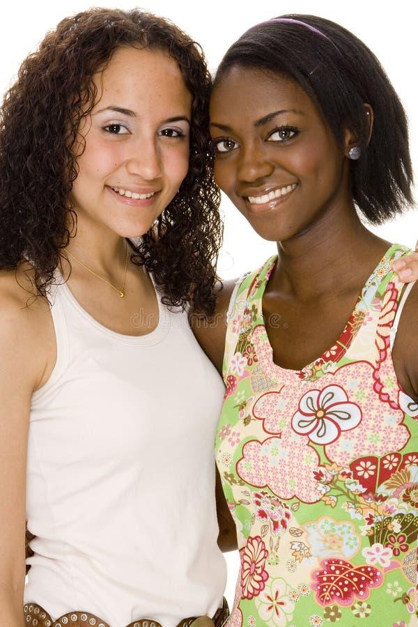 Jugendfrauen stockbilder