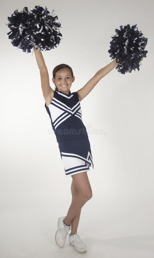 Jugendlich Cheerleader lizenzfreies stockbild