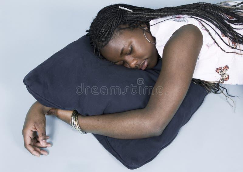 Jugendlich, ein Schlaefchen halten lizenzfreies stockfoto