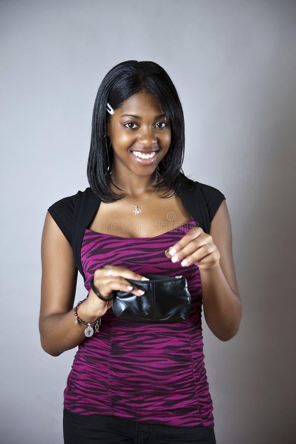Jugendlich Einsparunggeld lizenzfreies stockfoto