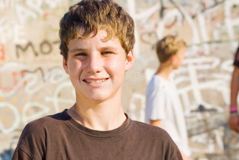 Jugendlich Junge stockfotografie
