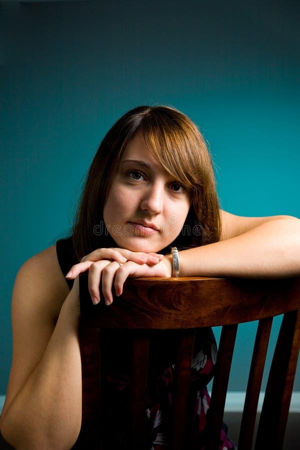 Jugendlich Mädchen-Portrait lizenzfreies stockbild