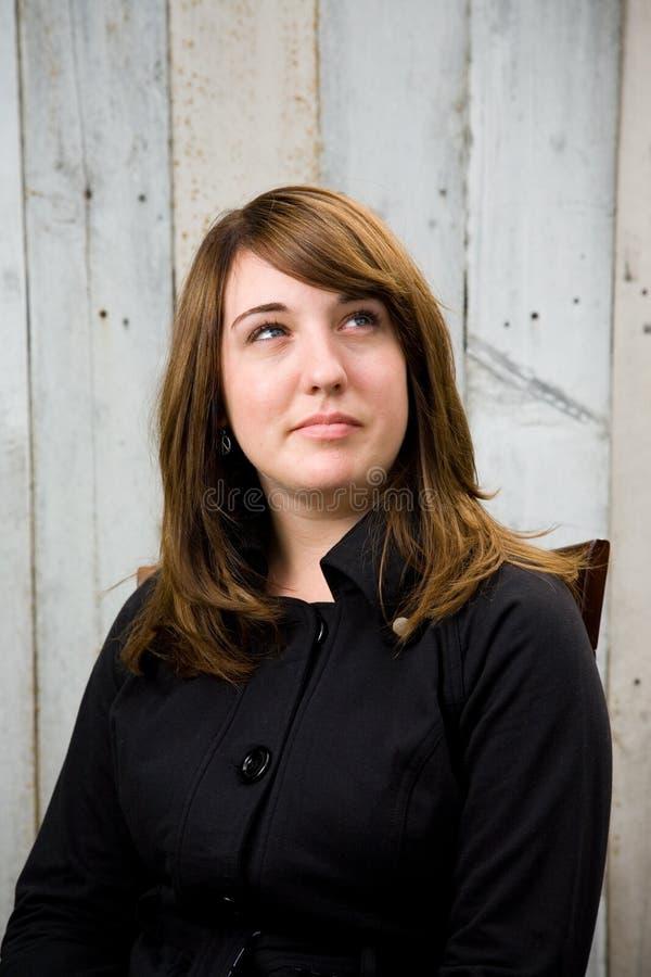 Jugendlich Mädchen-Portrait lizenzfreies stockfoto