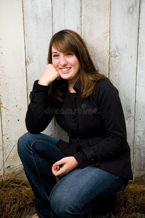 Jugendlich Mädchen-Portrait lizenzfreie stockfotos