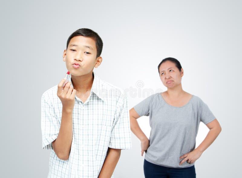 Jugendlich Problem poncept stockbilder