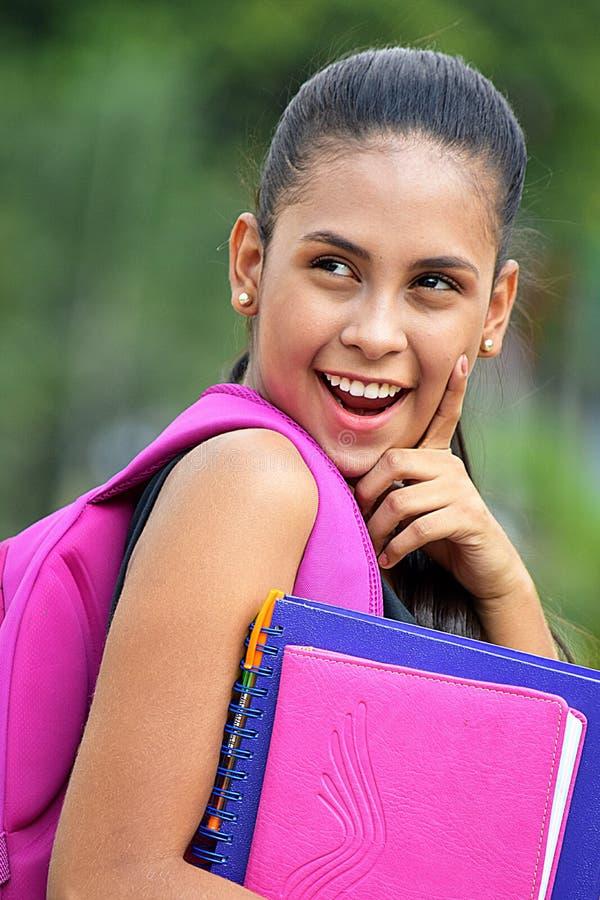 Jugendliche-Student Having An Idea lizenzfreies stockbild