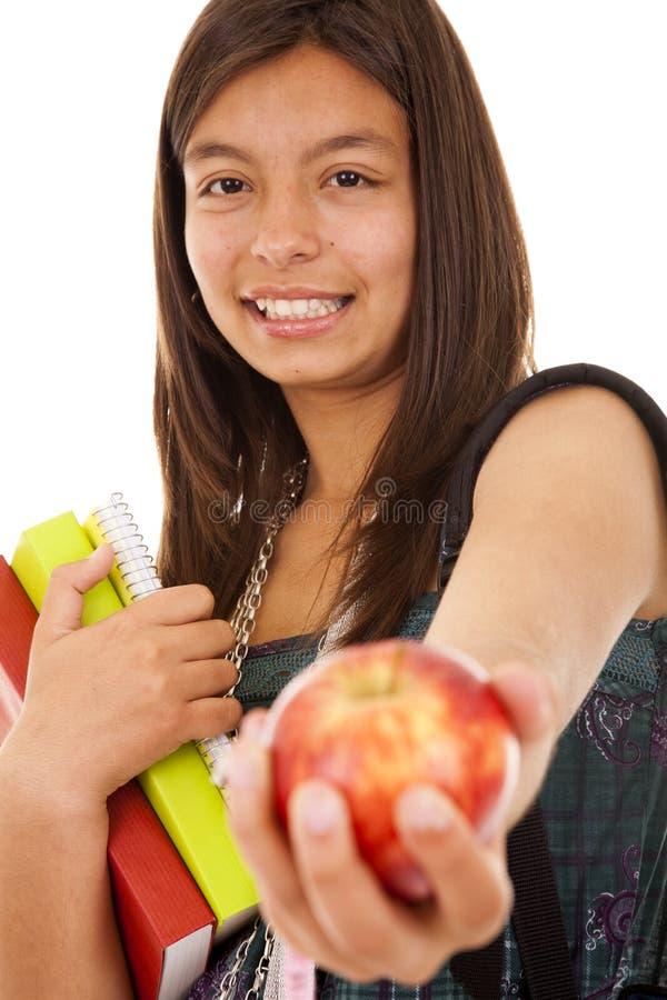 Jugendlicher betriebsbereit, zur Schule zurück zu gehen lizenzfreie stockbilder