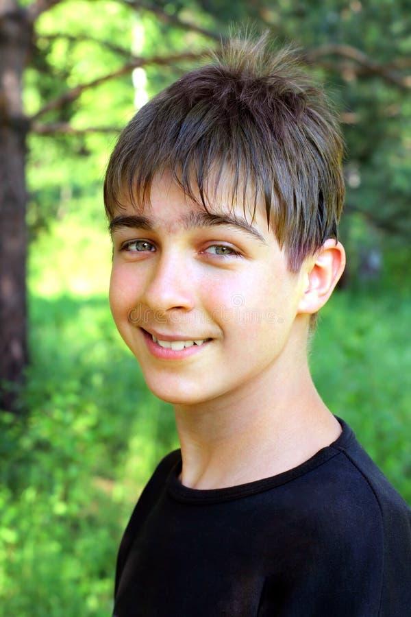 Jugendlichportrait stockbild
