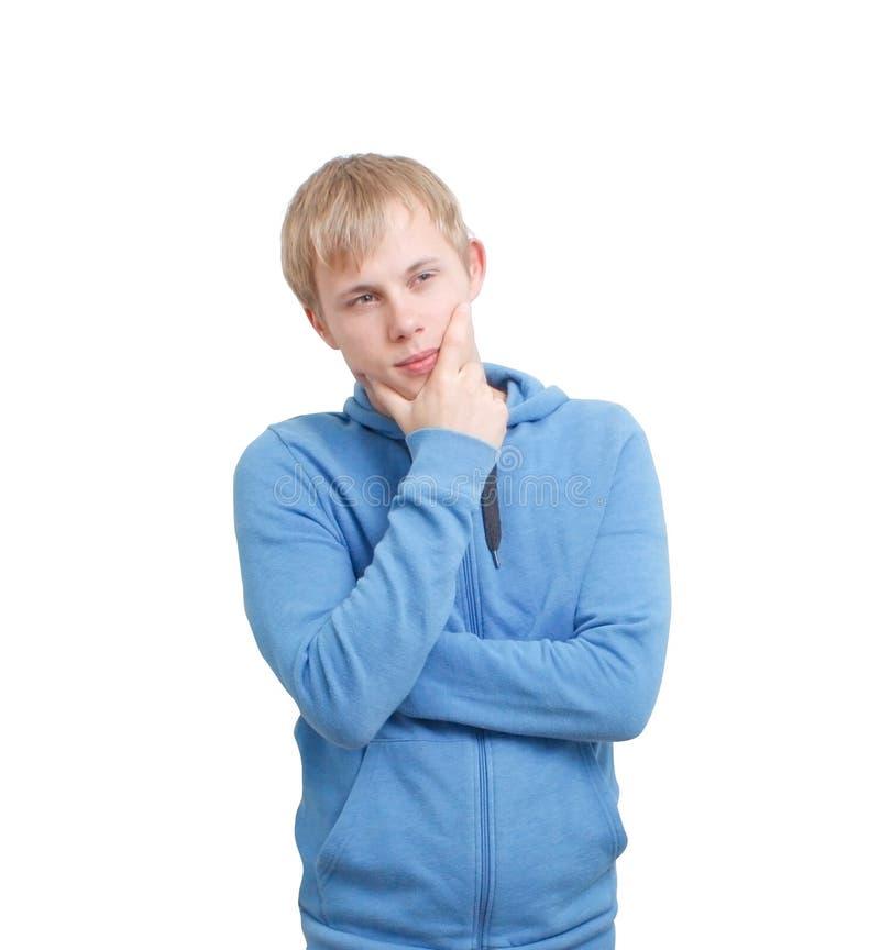 Jugendlichwundern stockfoto