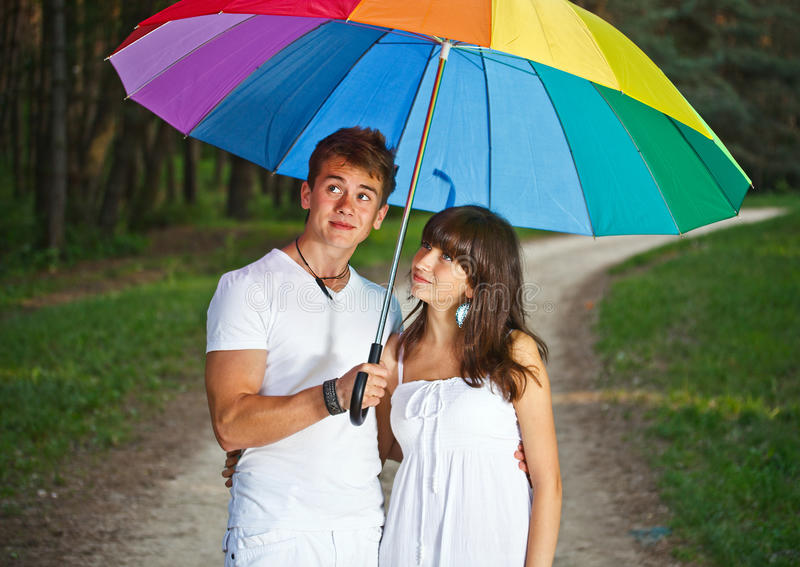 Jugendpaare stockbilder