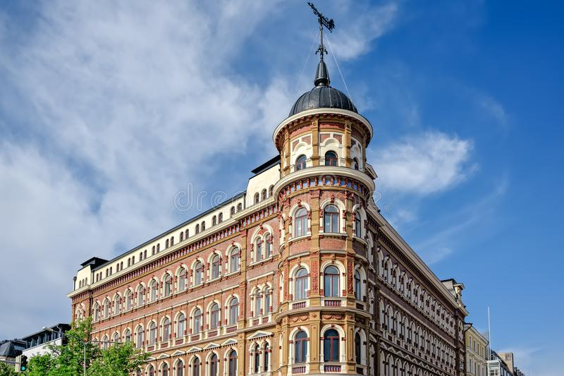Jugendstil architecture in Helsinki royalty free stock image