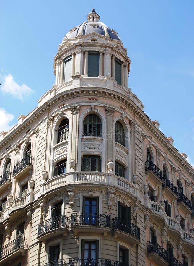 Jugendstil in Barcelona royalty-vrije stock afbeelding