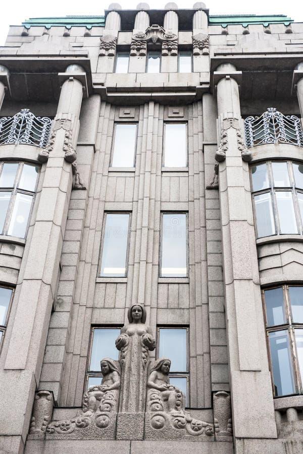 Jugendstil Helsinki royalty free stock photography