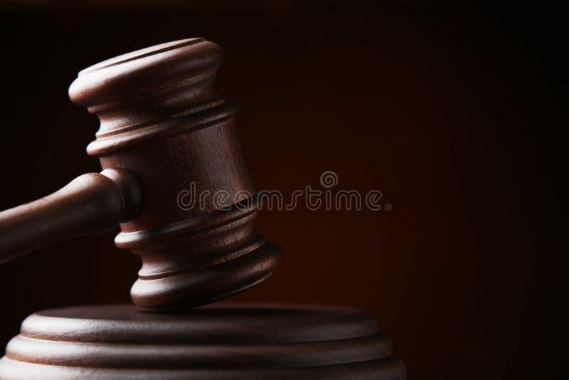Jugez le marteau image libre de droits