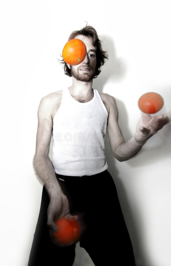 Download Juggler stock photo. Image of skilful, difficult, exercise - 1877490