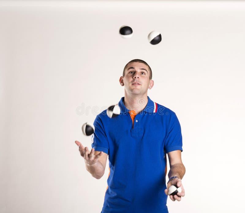 Juggler royalty free stock photos