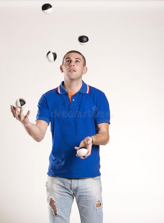 Juggler royalty-vrije stock foto's