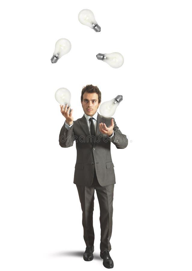Download Juggler genius stock image. Image of juggle, glowing - 33608941