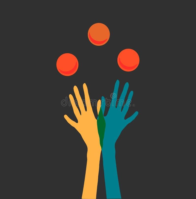 jugglers ilustracji