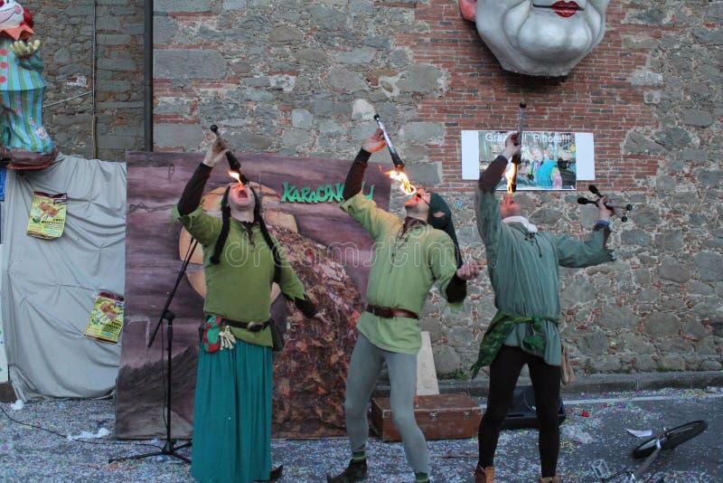 jugglers imagen de archivo