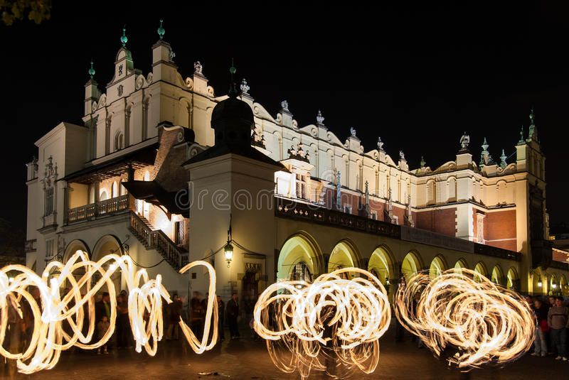 Download Jugglers in Krakow editorial photo. Image of history - 26754296