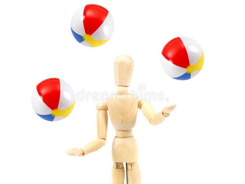 Juggling stock image