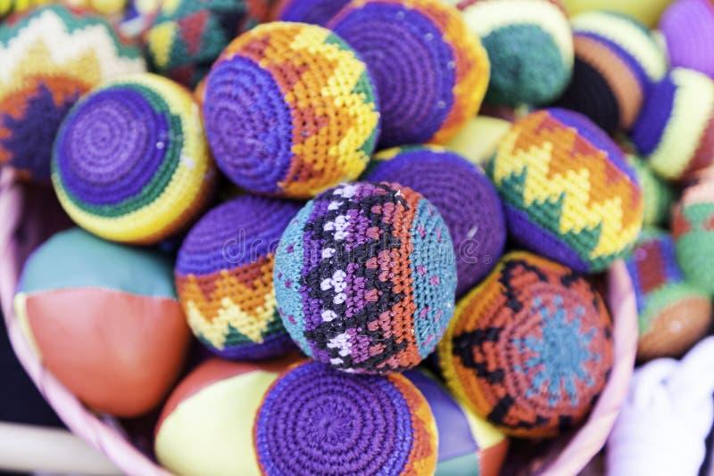 Juggling balls royalty free stock image