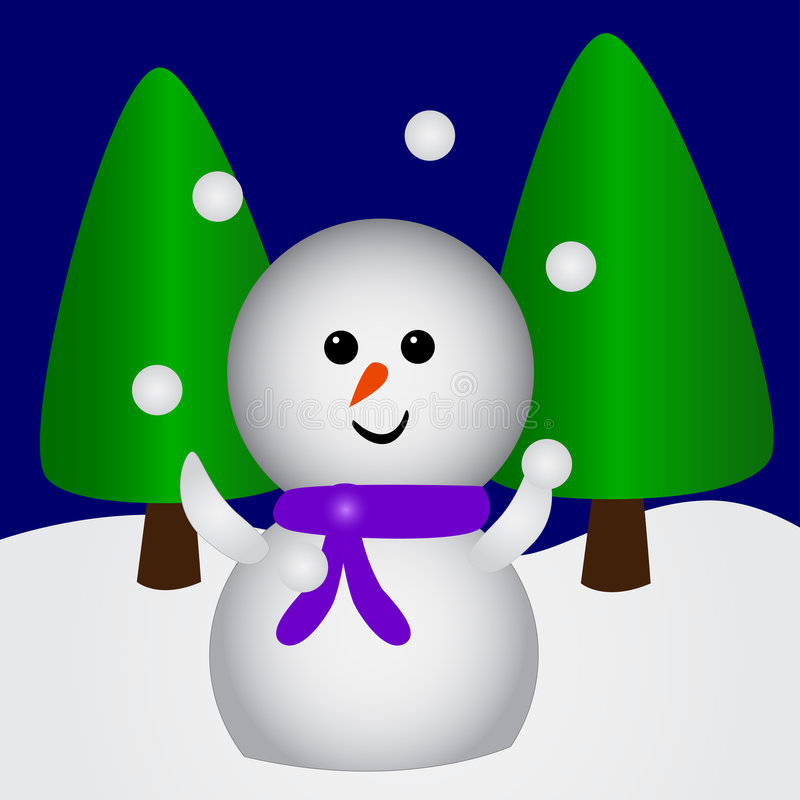 Free Juggling Snowman Stock Images - 2764394