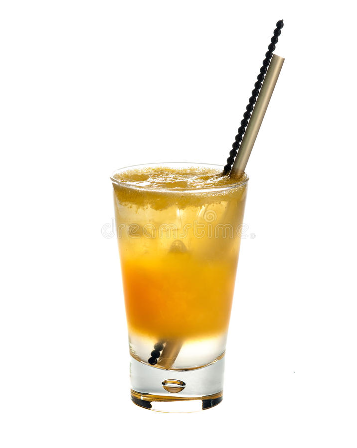 Jugo De Citronada.Orange Fotografía de archivo