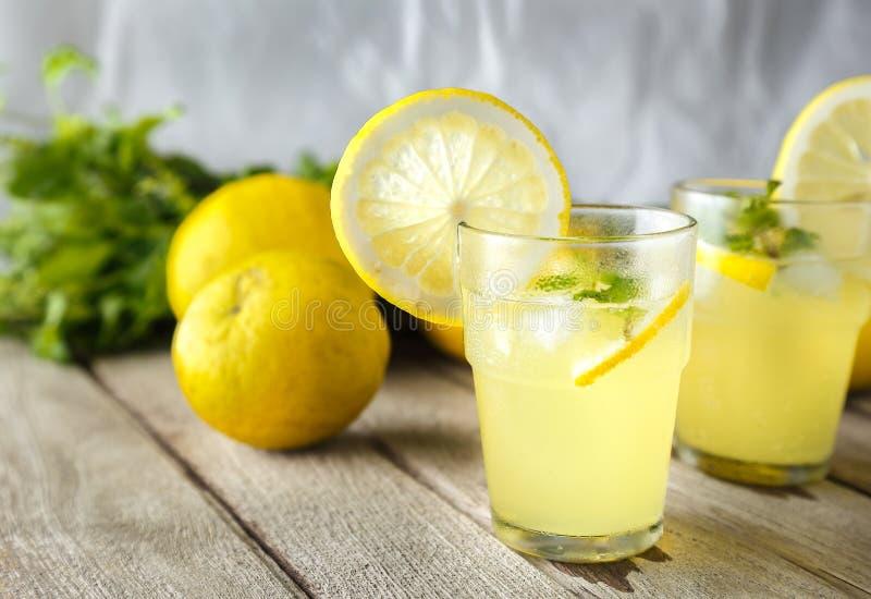 Jugo de limón imagen de archivo libre de regalías