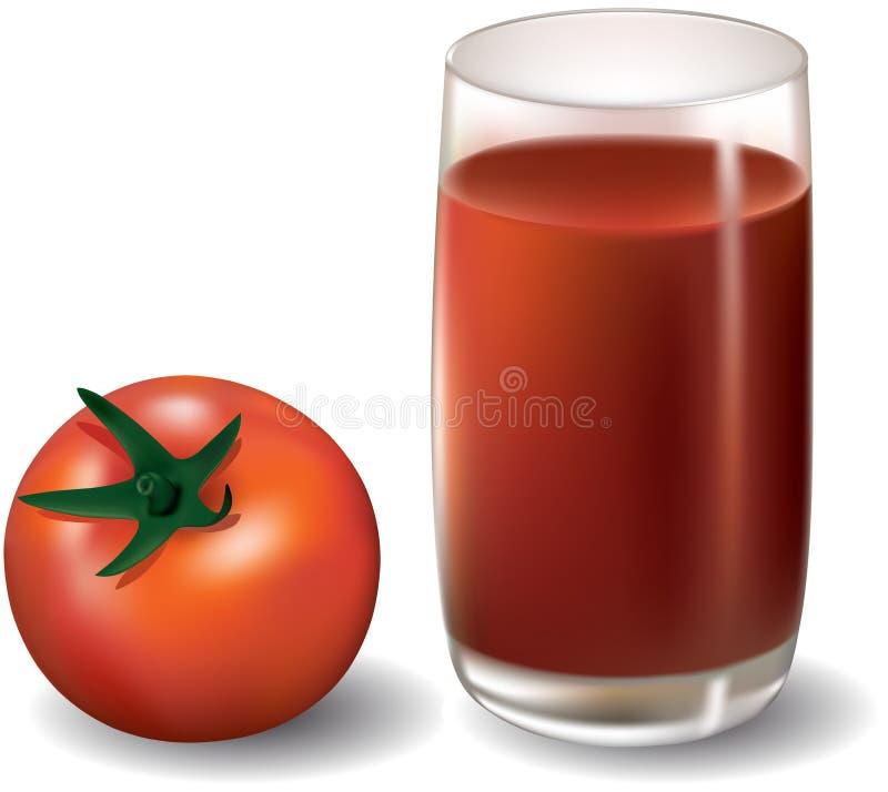 Jugo de tomate libre illustration