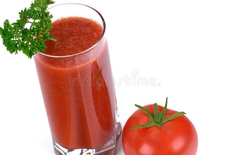 Jugo de tomate fresco foto de archivo libre de regalías