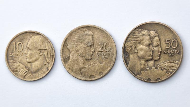 Jugoslaviska dinars arkivfoton