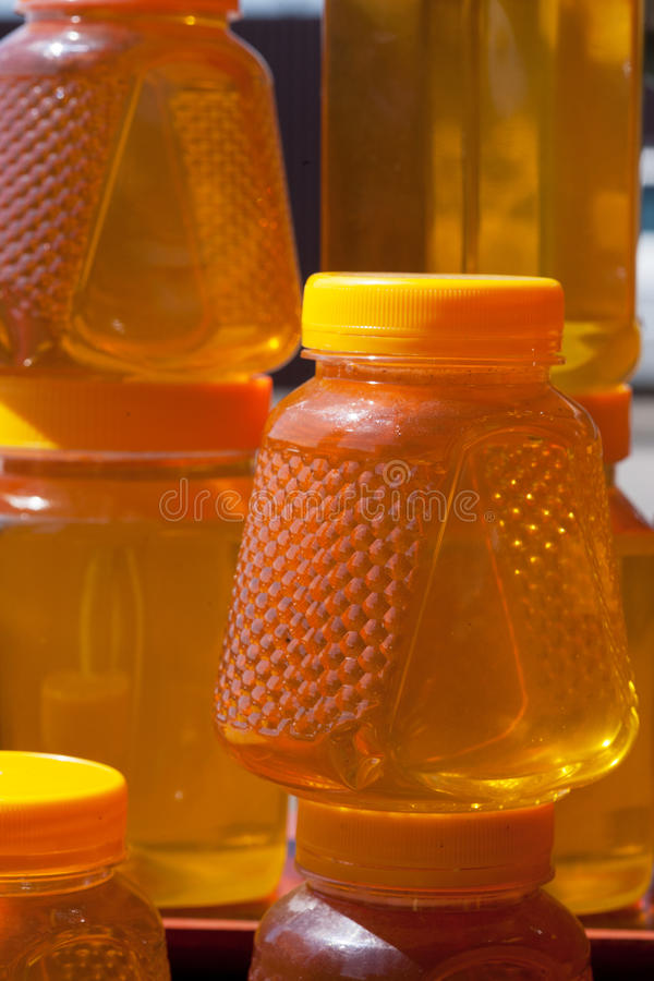 Download Jugs with honey stock photo. Image of organic, cure, remedy - 27351380