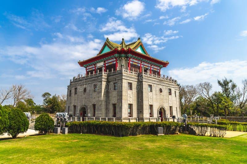 Juguang torn i Kinmen, Taiwan fotografering för bildbyråer