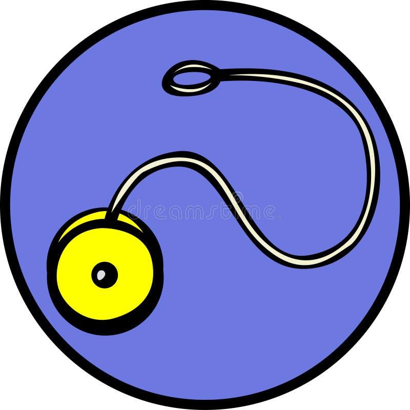 Juguete de giro del yoyo libre illustration