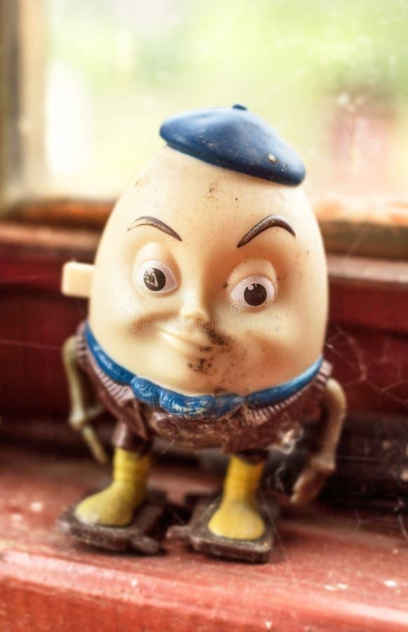 Juguete de Humpty Dumpty imagen de archivo
