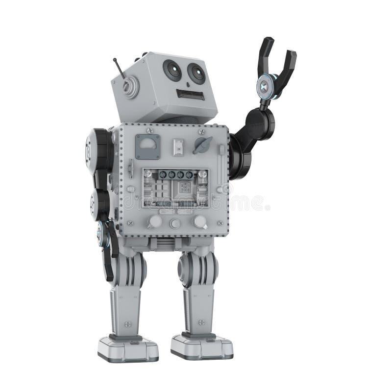 Juguete de la lata del robot