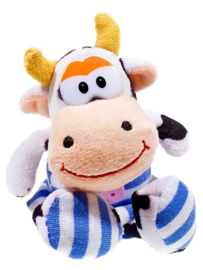 Juguete de la vaca fotografía de archivo