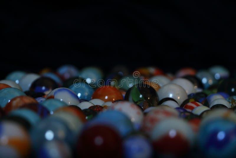 Juguete de mármol del taw para los niños fotografía de archivo libre de regalías