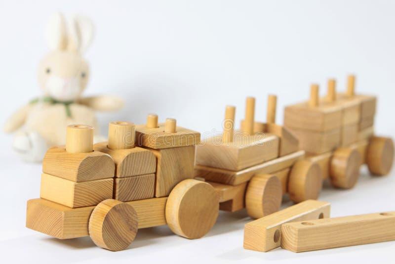 Juguete de madera fotos de archivo