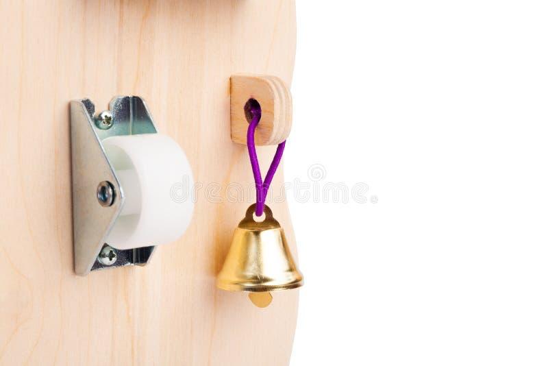 Juguete de madera para los cabritos imagen de archivo libre de regalías