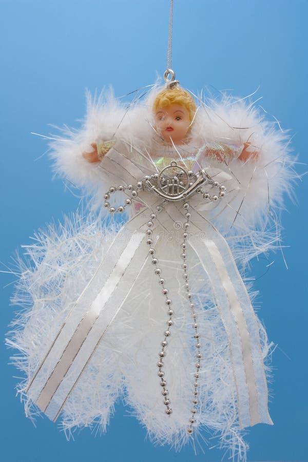 Juguete del Año Nuevo - una muñeca foto de archivo libre de regalías