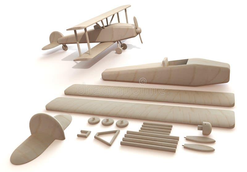 Juguete del aeroplano ilustración del vector